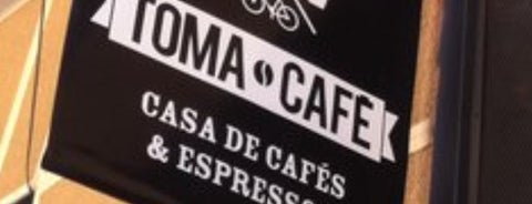 Toma Café is one of places where u can be.