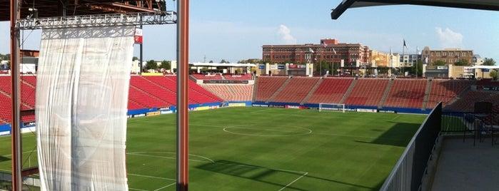 Toyota Stadium is one of MLS Stadiums.