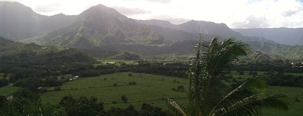 Hanalei Bay Lookout is one of Kauai.
