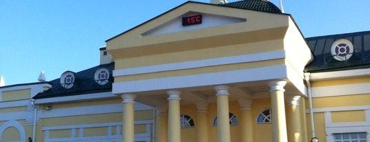 Ж/Д станция Юрга-1 is one of Транссибирская магистраль.