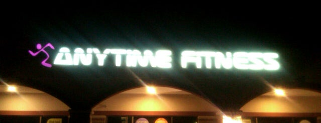 Anytime Fitness is one of Where you can find me....