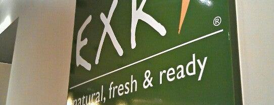 EXKi is one of Lunch sur le pouce à Bruxelles.