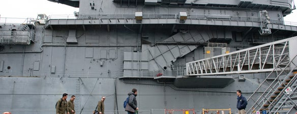 USS Hornet - Sea, Air and Space Museum is one of Ghost Adventures Lockdowns.