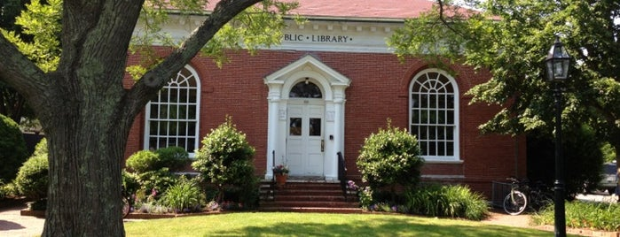 Edgartown Public Library is one of Martha's Vineyard.