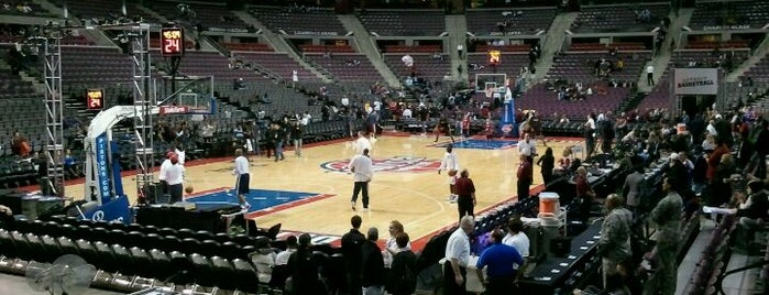 The Palace of Auburn Hills is one of Basketball arena.