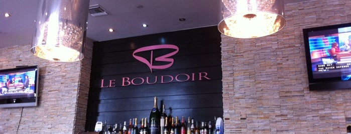 Le Boudoir is one of Miami Coffee Shops Offering Free Wi-Fi.