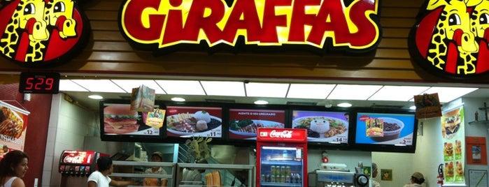 Giraffas is one of Onde comer bem em Aracaju, Sergipe..