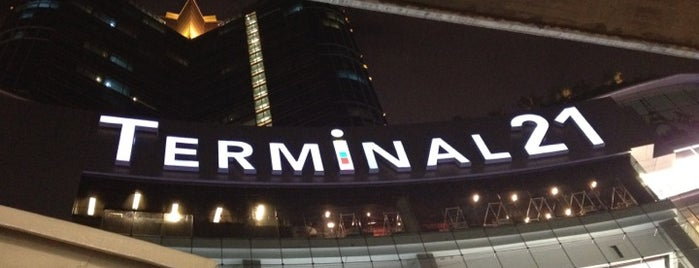 Terminal21 is one of BKK.