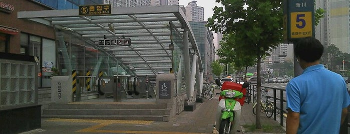 Jamsil Saenae Stn. is one of Subway Stations in Seoul(line1~4 & DX).