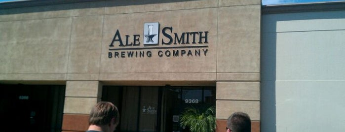 AleSmith Brewing Company is one of Craft Beer in San Diego.