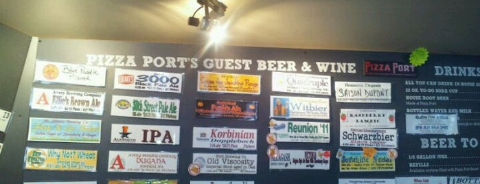 Pizza Port Brewing Company is one of Local breweries.