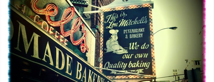 Lou Mitchell's is one of CHICAGO: EAT,SHOP,DAZE.
