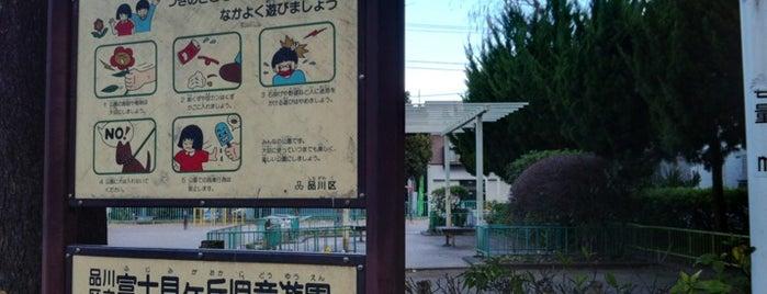 富士見ヶ丘公園 is one of 公園.