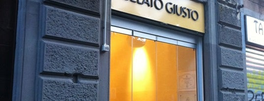 Gelato Giusto is one of Milano food.