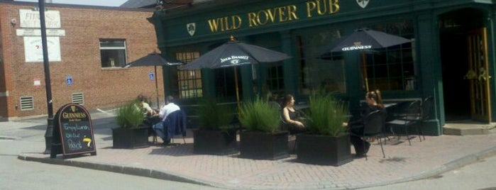 The Wild Rover Pub is one of Taco tour 2012.