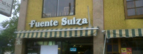 Fuente Suiza is one of Sandwicherias de Santiago.