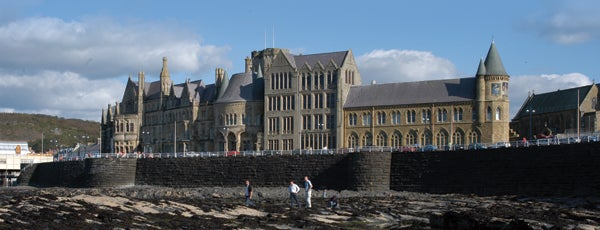 Aberystwyth University Old College is one of Town.