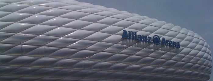 Allianz Arena is one of Football Stadiums to visit before I die.