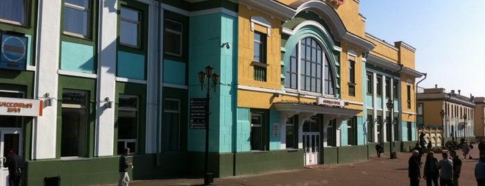Ж/Д вокзал Улан-Удэ|Ulan-Ude Railway Station is one of Транссибирская магистраль.