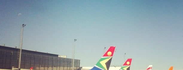 O. R. Tambo International Airport (JNB) is one of My Airports.