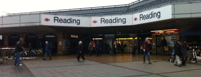 Reading Railway Station (RDG) is one of Railway stations visited.