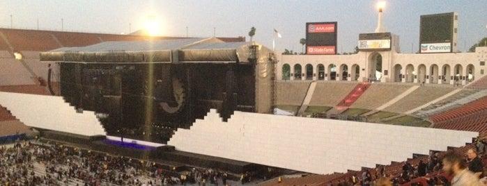 Los Angeles Memorial Coliseum is one of Must Visit - LA.