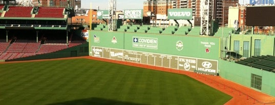 Fenway Park is one of BUcket List.