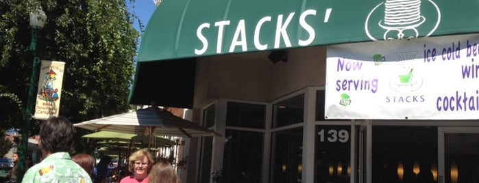 Stacks is one of Nor Cal Destinations.