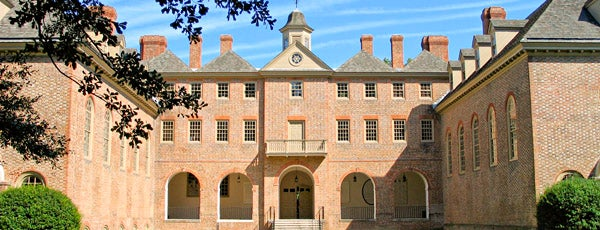 Wren Building and Courtyard is one of Favorite Places.