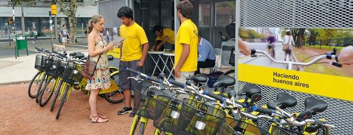 Estación 8 - Congreso [Ecobici] is one of Estaciones de Ecobici de la Ciudad de Buenos Aires.
