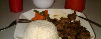 The steak cafe cempaka putih is one of Culinary @Cempaka Putih.