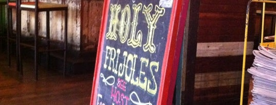 Holy Frijoles is one of Baltimore's Best Mexican Restaurants - 2012.