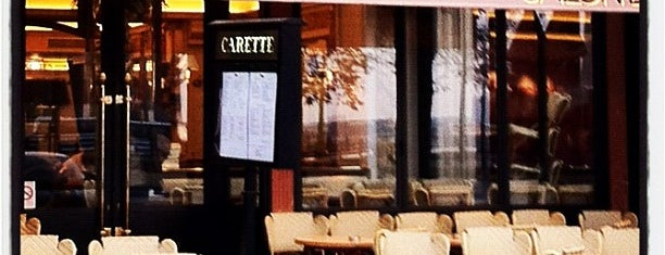 Carette is one of Paris.