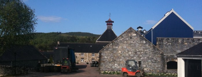 Glenfiddich Distillery is one of GreaterSpeyside.