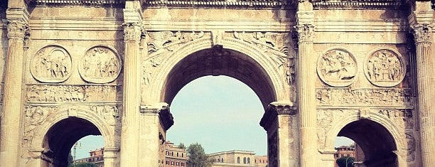 Arch of Constantine is one of Europe 2013.