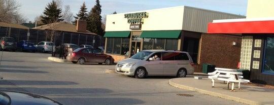 Starbucks is one of Lees Digs.