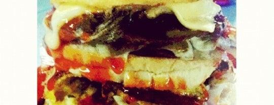 Zul's Burger is one of Makan @ Utara #7.