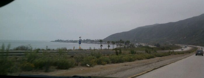 Rincon Beach is one of Beach Bouncing in So Cal.
