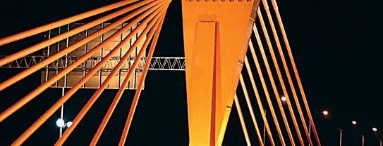 Southern bridge is one of Unveil Riga : Atklāj Rīgu : Открой Ригу.