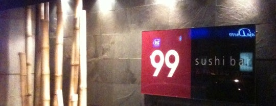 99 Sushi Bar is one of Favourite Restaurants (Spain).