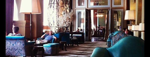 Soho Grand Hotel is one of Venues with free Wi-Fi in NYC.