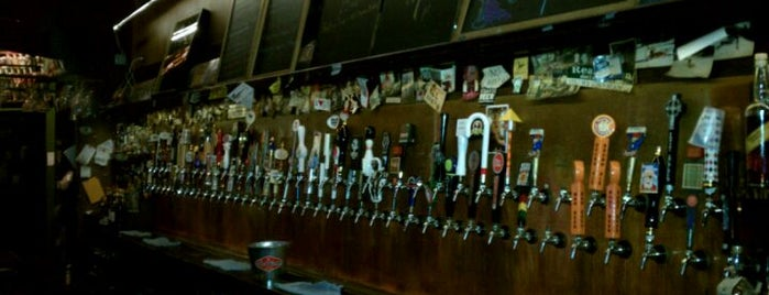 Falling Rock Tap House is one of Draft Mag's Top 100 Beer Bars (2012).