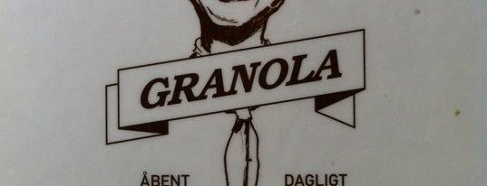 Granola is one of Copenhagen.