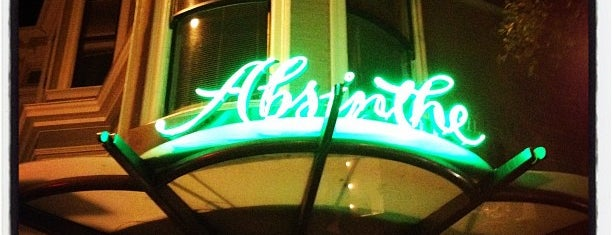 Absinthe Brasserie & Bar is one of SF Bars.