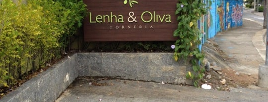 Lenha & Oliva is one of Pizza! • Florianópolis.
