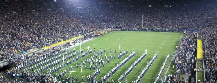 Notre Dame Stadium is one of Great Sport Locations Across United States.