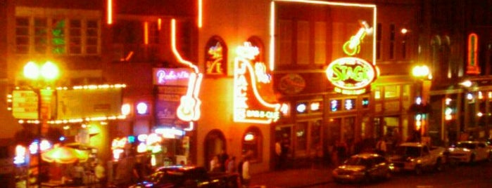 Broadway is one of Places To Visit In Nashville.