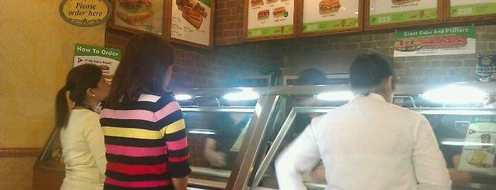 Subway is one of 20 favorite restaurants.