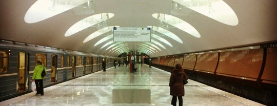 metro Borisovo is one of Complete list of Moscow subway stations.
