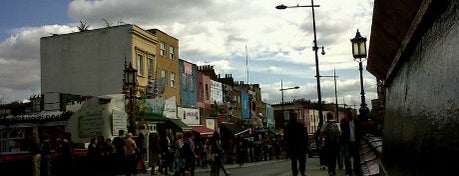 Camden Town is one of London as a local.